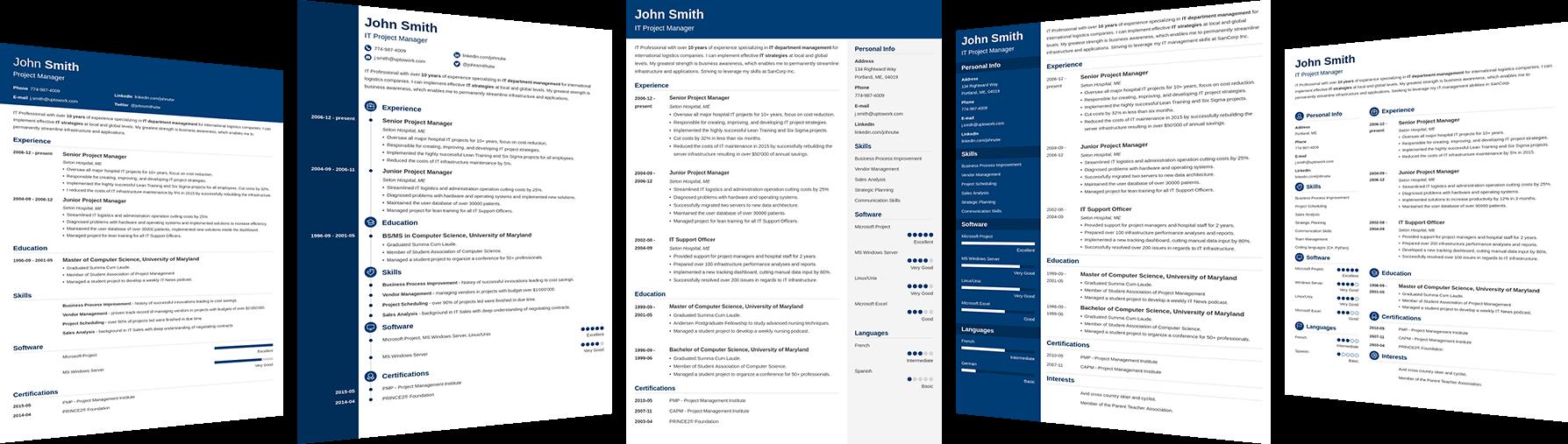 Crea un CV que te consiga un trabajo.