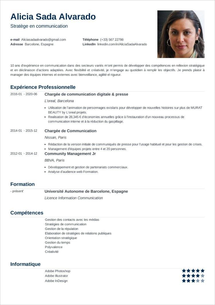 curriculum frances nanica