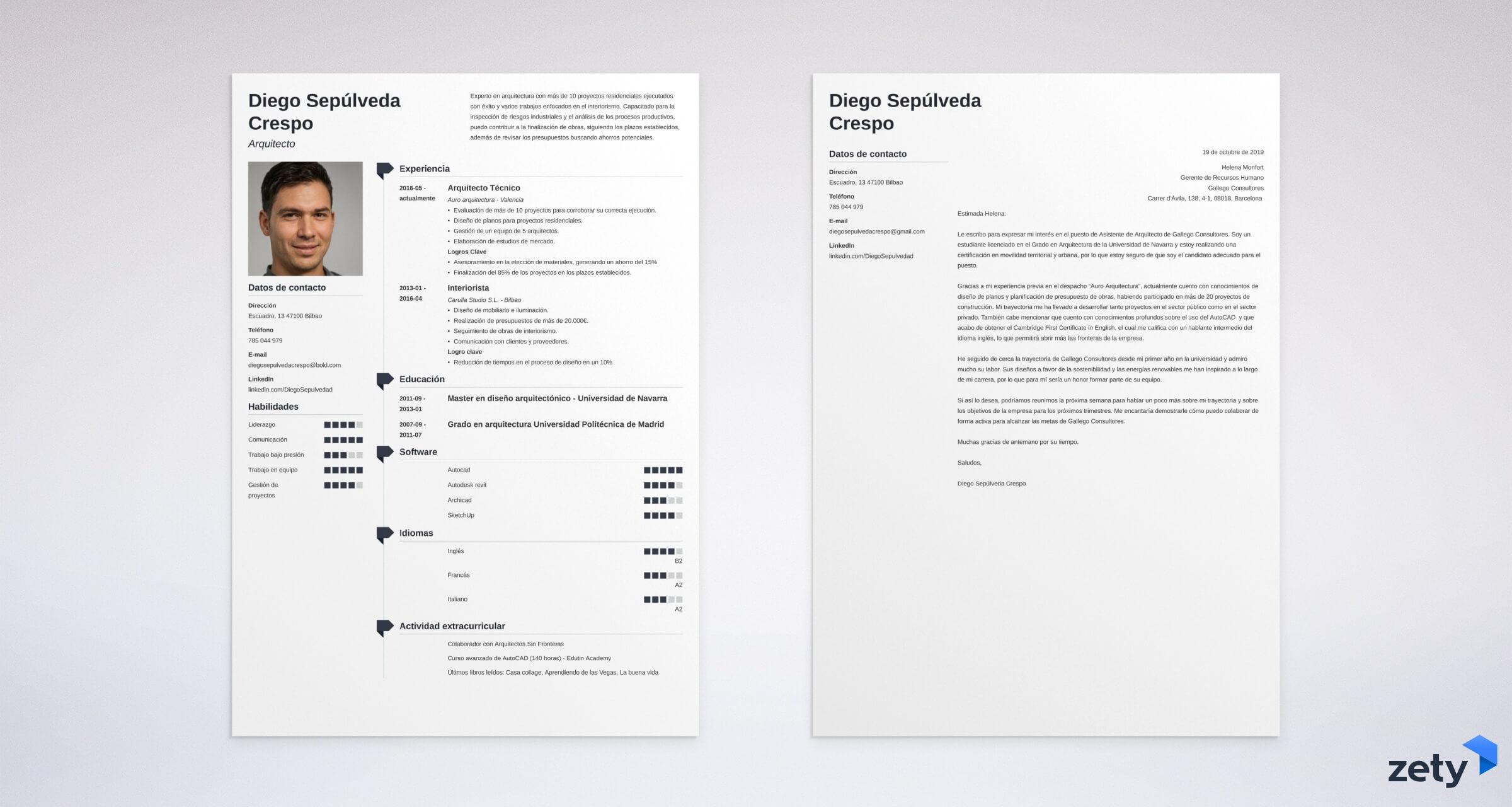 Carta De Presentación Corta Y Sencilla Guía Completa Ejemplos