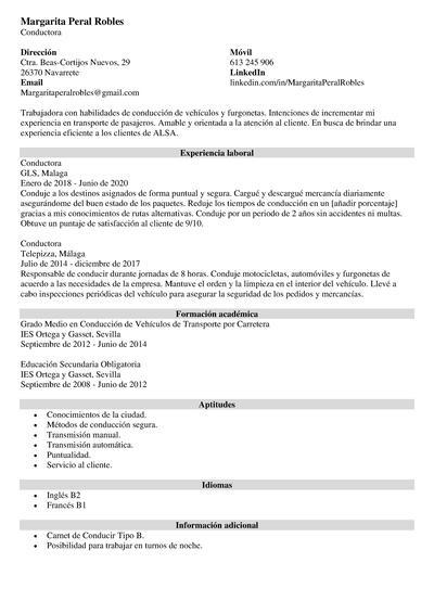 plantillas curriculum openoffice