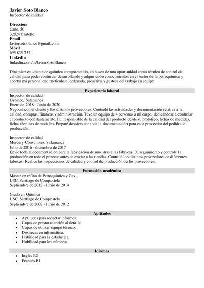 programas informaticos curriculum